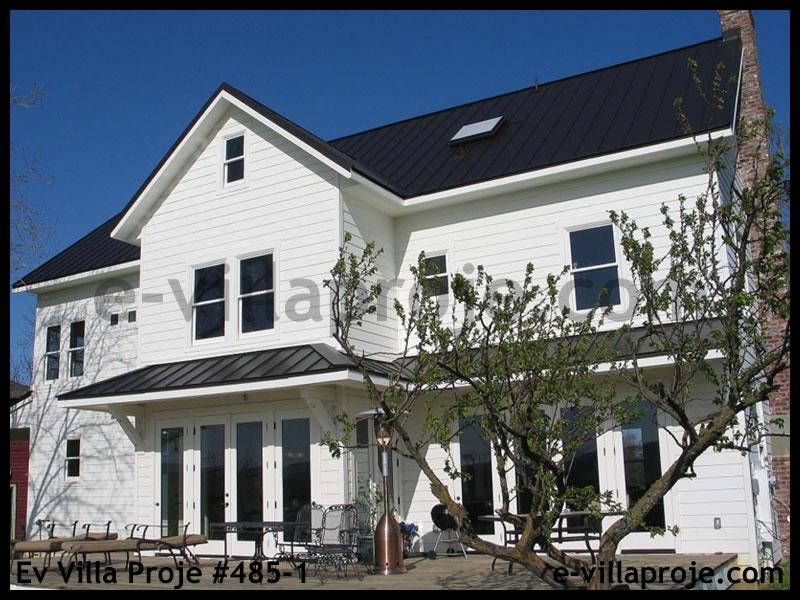Ev Villa Proje #485 – 1, 2 katlı, 5 yatak odalı, 272 m2