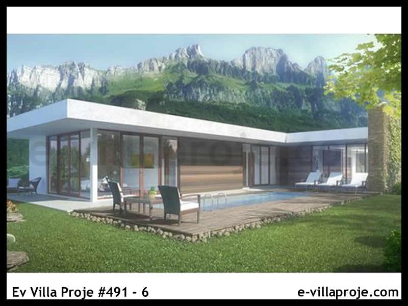 Ev Villa Proje #491 – 6, 1 katlı, 3 yatak odalı, 215 m2