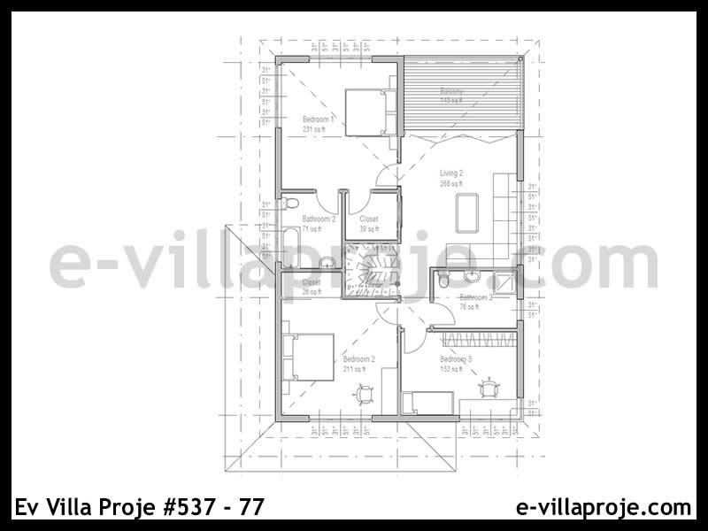 Ev Villa Proje #537 – 77