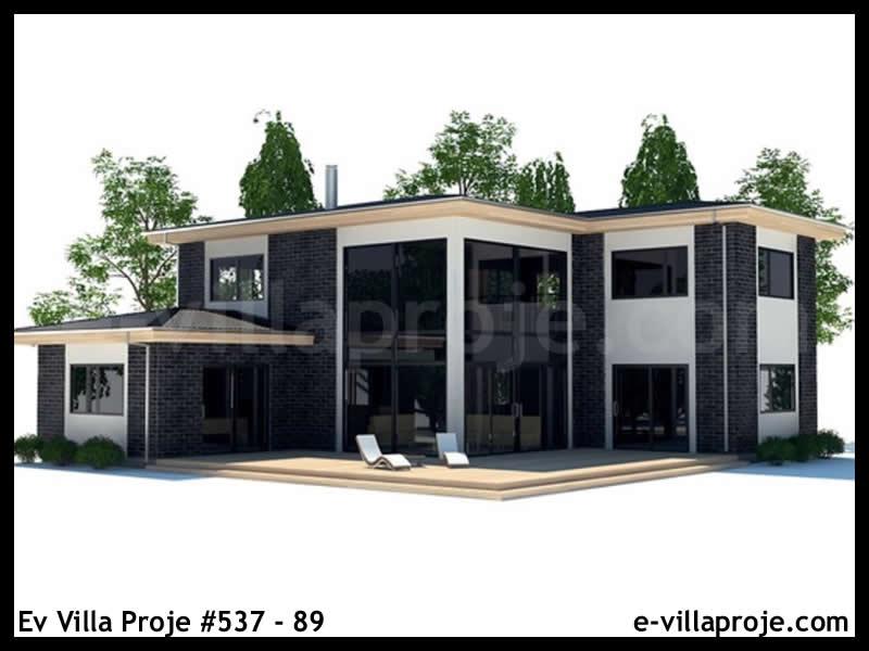 Ev Villa Proje #537 – 89, 2 katlı, 3 yatak odalı, 177 m2