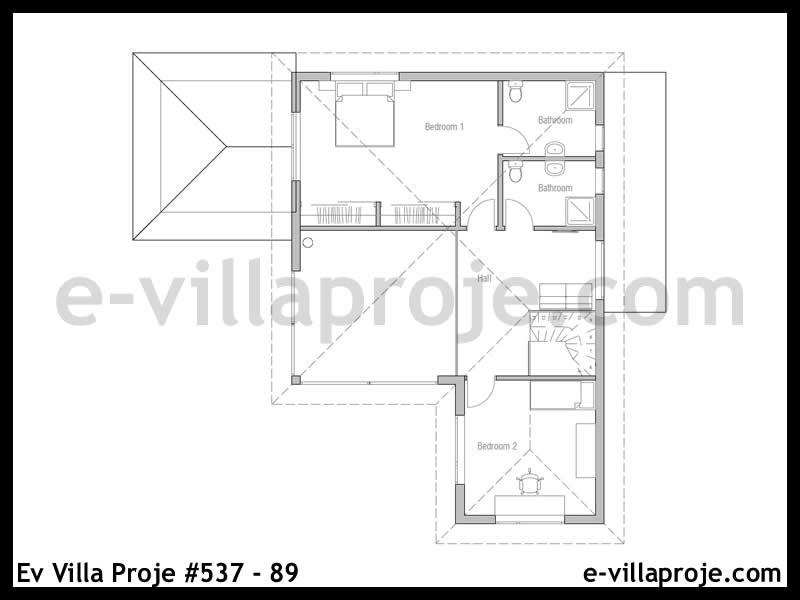 Ev Villa Proje #537 – 89
