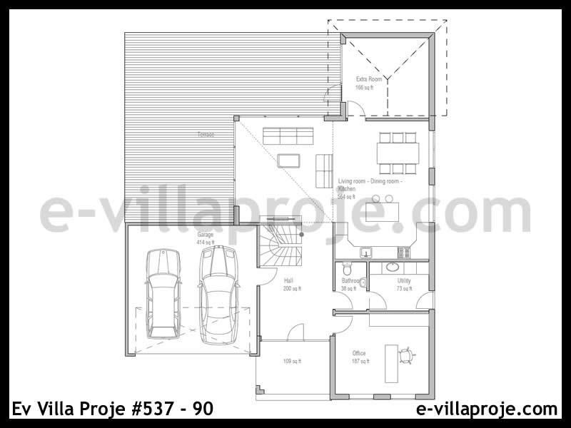 Ev Villa Proje #537 – 90