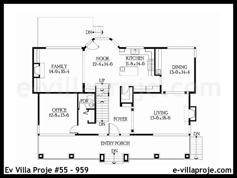 Ev Villa Proje #55 – 959