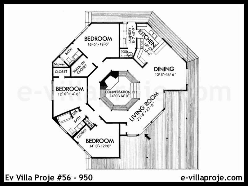 Ev Villa Proje #56 – 950