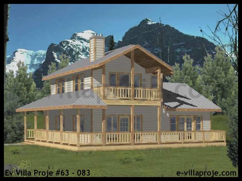 Ev Villa Proje #63 – 083, 2 katlı, 2 yatak odalı, 138 m2