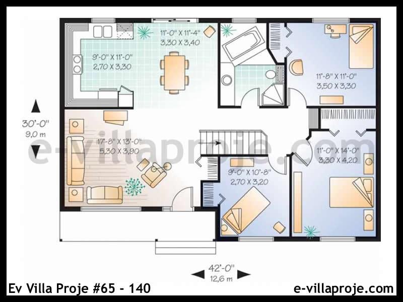 Ev Villa Proje #65 – 140