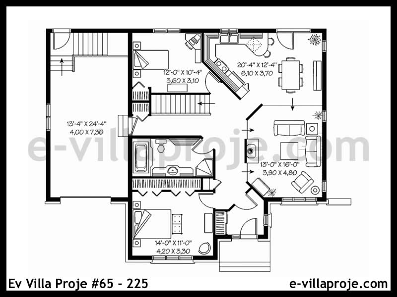 Ev Villa Proje #65 – 225