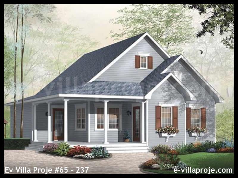 Ev Villa Proje #65 – 237, 1 katlı, 2 yatak odalı, 107 m2