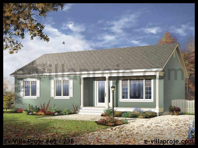 Ev Villa Proje #65 – 238, 1 katlı, 3 yatak odalı, 0 garajlı, 107 m2