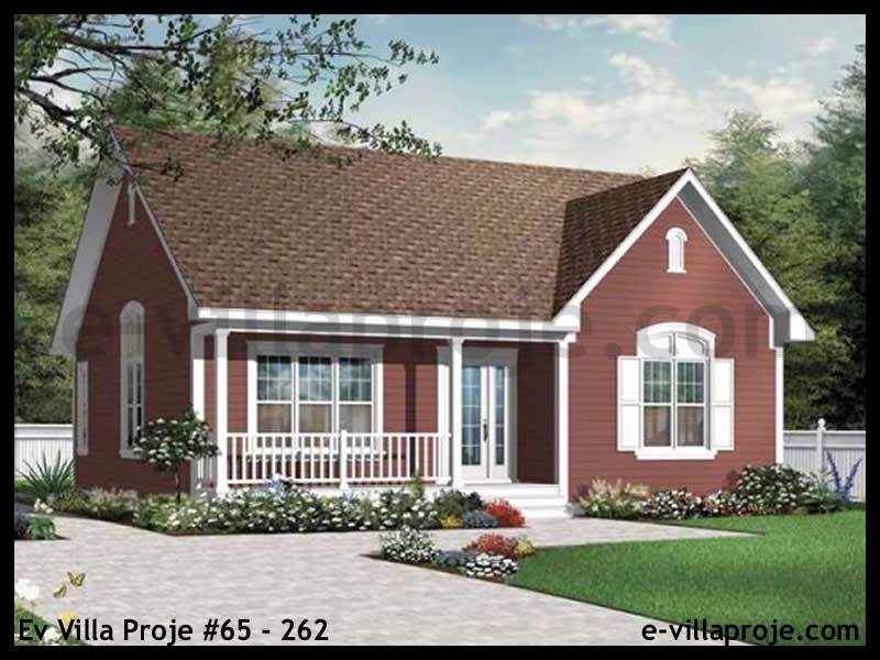 Ev Villa Proje #65 – 262, 1 katlı, 2 yatak odalı, 101 m2