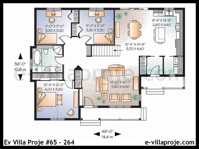Ev Villa Proje #65 – 264