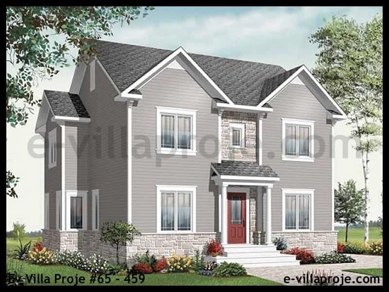 Ev Villa Proje #65 – 459, 2 katlı, 4 yatak odalı, 194 m2