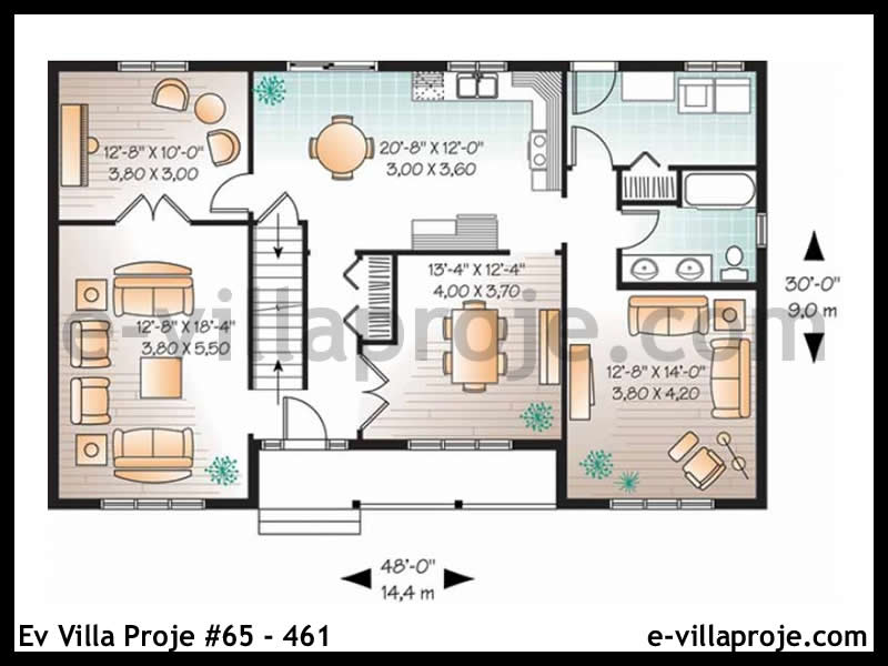 Ev Villa Proje #65 – 461