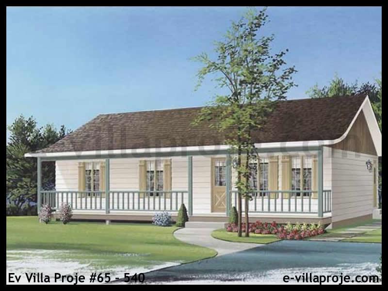 Ev Villa Proje #65 – 540, 1 katlı, 3 yatak odalı, 102 m2