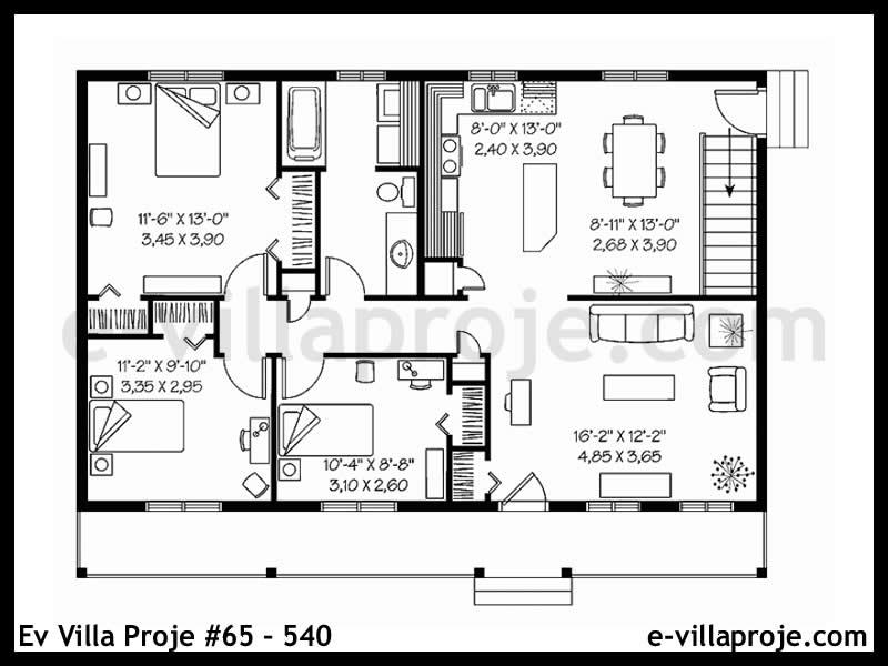 Ev Villa Proje #65 – 540
