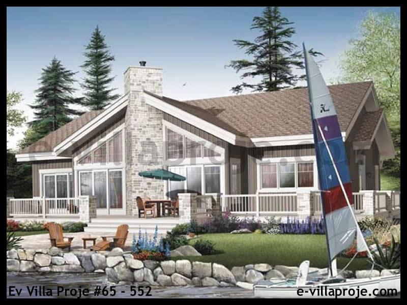 Ev Villa Proje #65 – 552, 1 katlı, 4 yatak odalı, 194 m2