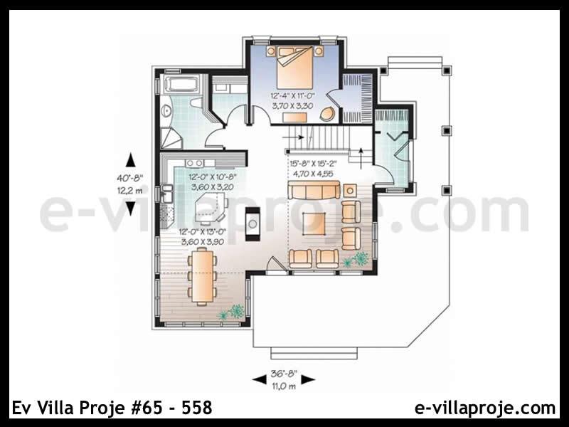 Ev Villa Proje #65 – 558