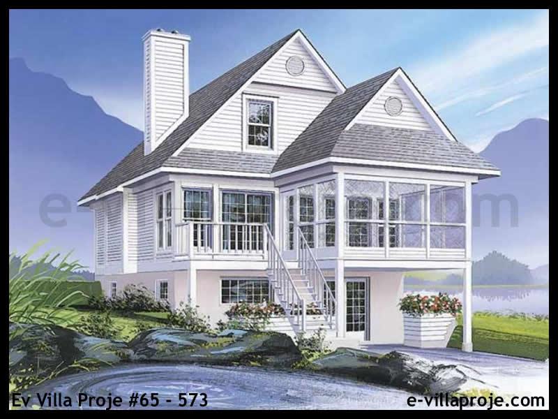 Ev Villa Proje #65 – 573, 2 katlı, 3 yatak odalı, 134 m2