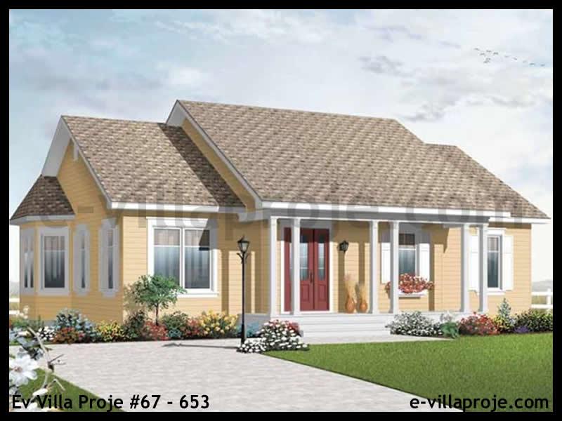 Ev Villa Proje #67 – 653, 1 katlı, 3 yatak odalı, 110 m2