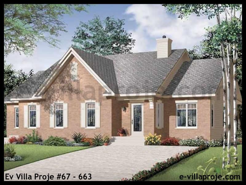 Ev Villa Proje #67 – 663, 1 katlı, 3 yatak odalı, 182 m2
