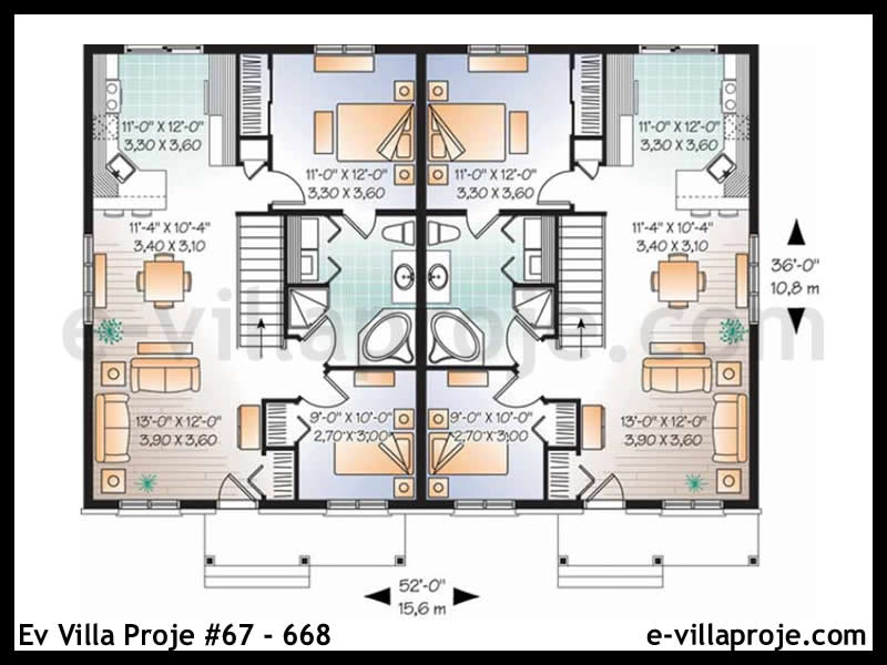 Ev Villa Proje #67 – 668