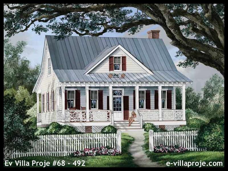 Ev Villa Proje #68 – 492, 2 katlı, 3 yatak odalı, 157 m2