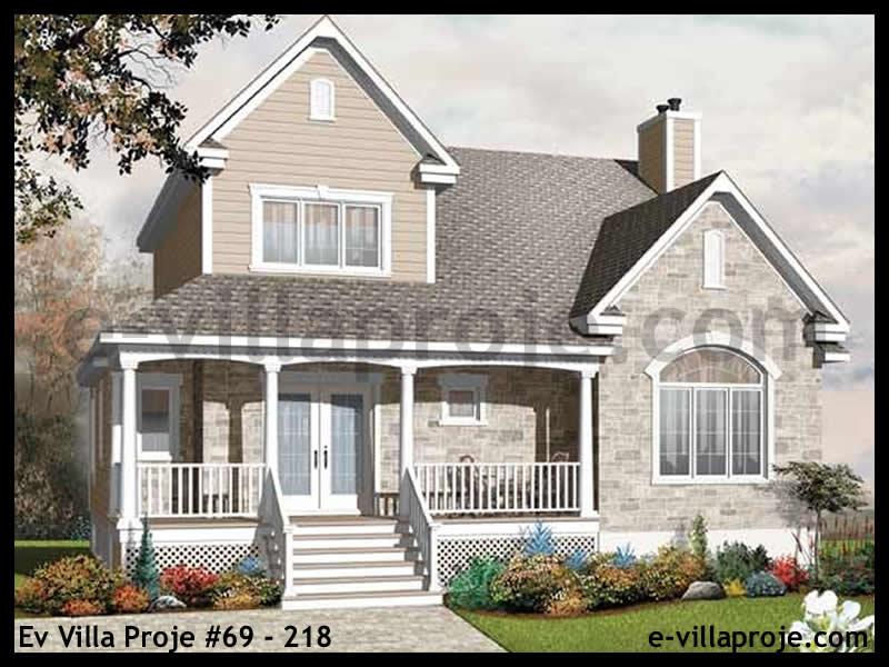 Ev Villa Proje #69 – 218, 2 katlı, 3 yatak odalı, 194 m2