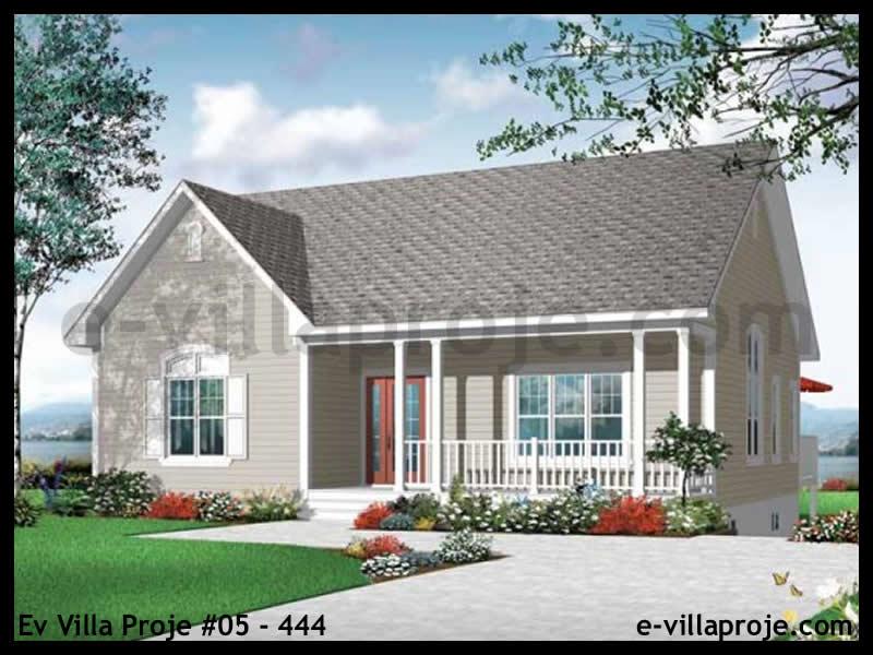 Ev Villa Proje #69 – 238, 1 katlı, 2 yatak odalı, 118 m2