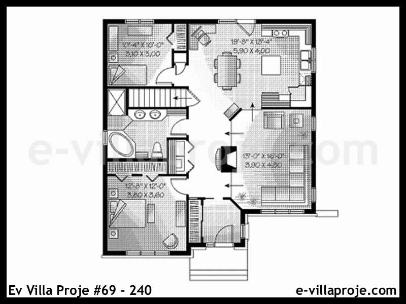 Ev Villa Proje #69 – 240