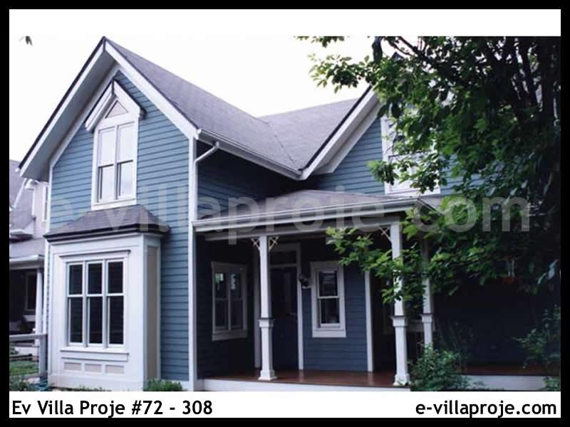 Ev Villa Proje #72 – 308, 2 katlı, 3 yatak odalı, 152 m2
