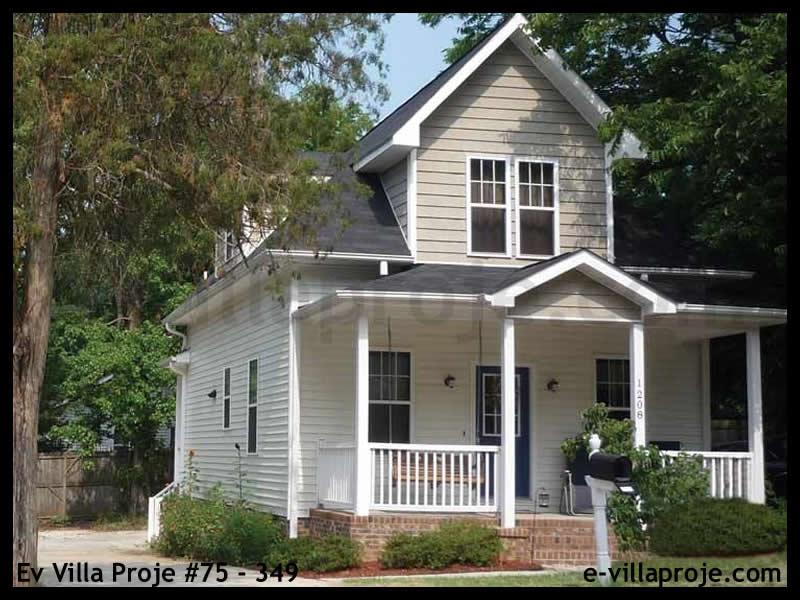 Ev Villa Proje #75 – 349, 2 katlı, 3 yatak odalı, 124 m2