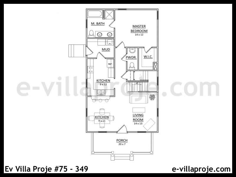 Ev Villa Proje #75 – 349