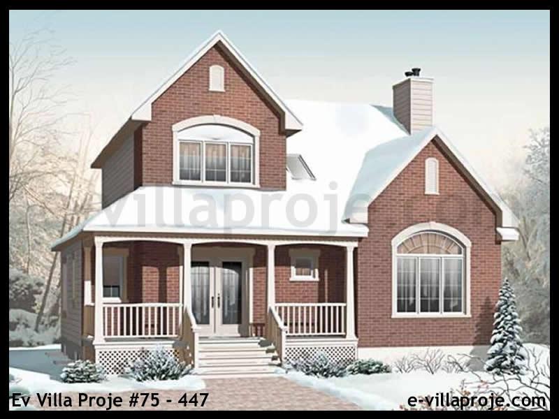 Ev Villa Proje #75 – 447, 2 katlı, 3 yatak odalı, 172 m2
