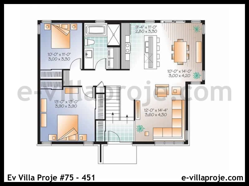 Ev Villa Proje #75 – 451