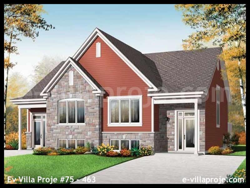 Ev Villa Proje #75 – 463, 2 katlı, 6 yatak odalı, 0 garajlı, 298 m2