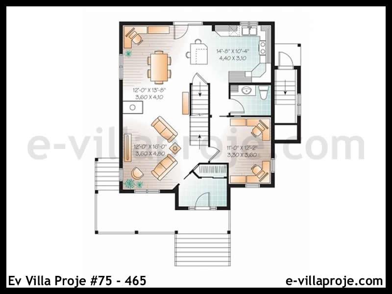 Ev Villa Proje #75 – 465