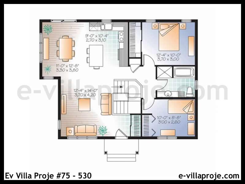 Ev Villa Proje #75 – 530
