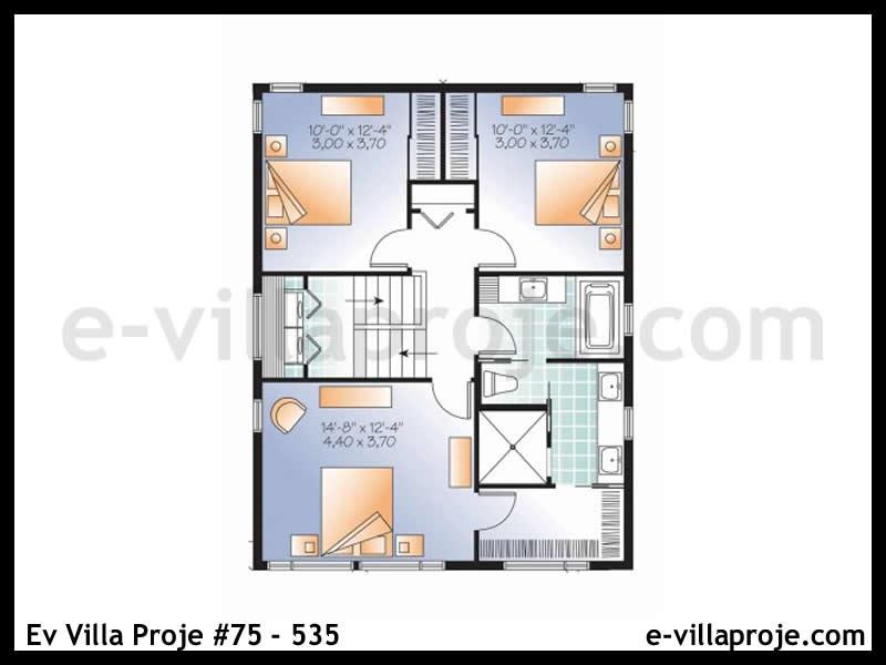 Ev Villa Proje #75 – 535