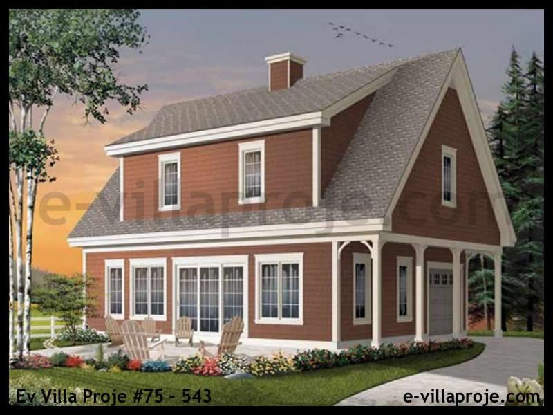 Ev Villa Proje #75 – 543, 2 katlı, 3 yatak odalı, 139 m2