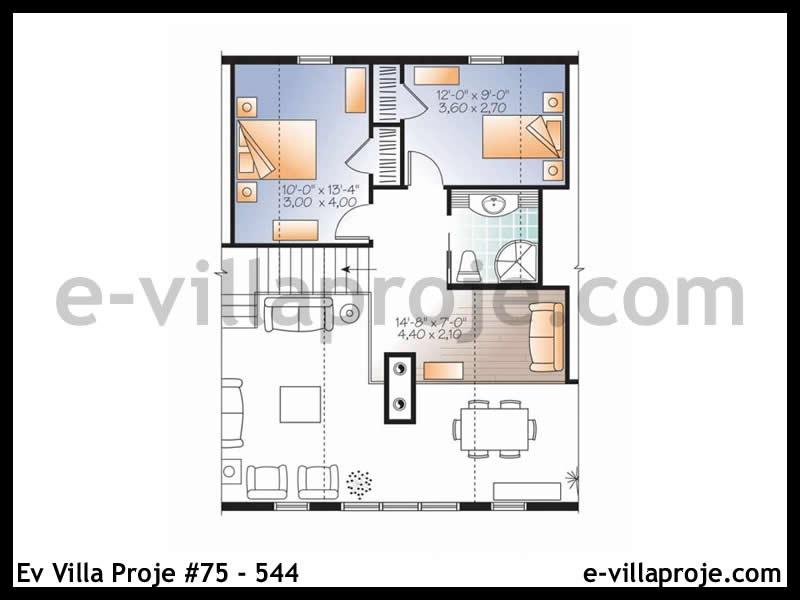 Ev Villa Proje #75 – 544