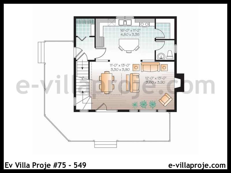 Ev Villa Proje #75 – 549