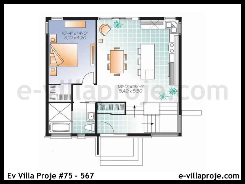 Ev Villa Proje #75 – 567