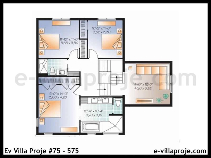 Ev Villa Proje #75 – 575