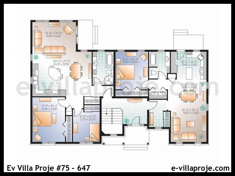 Ev Villa Proje #75 – 647