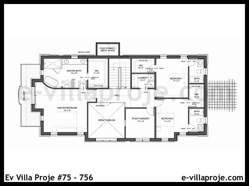 Ev Villa Proje #75 – 756