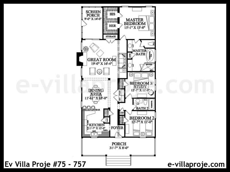 Ev Villa Proje #75 – 757