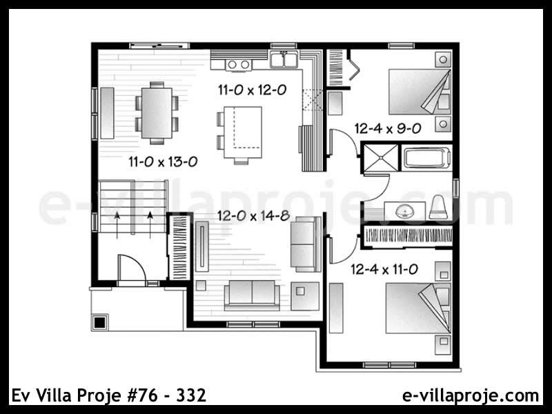 Ev Villa Proje #76 – 332