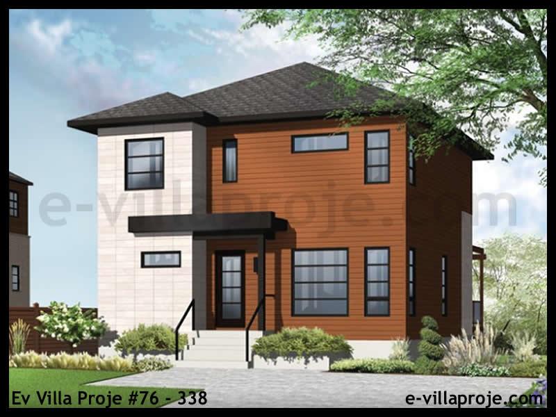 Ev Villa Proje #76 – 338, 2 katlı, 3 yatak odalı, 152 m2