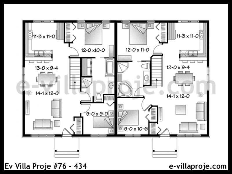 Ev Villa Proje #76 – 434