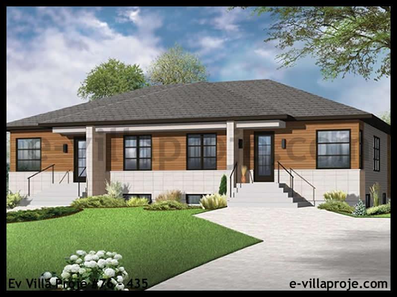 Ev Villa Proje #76 – 435, 1 katlı, 2 yatak odalı, 83 m2